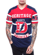 Heritage America - Delinquents SS Hockey Tee-2281692
