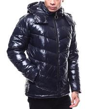 MADBLUE - Chevron Puffer Coat-2282599