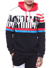 Black Pyramid - OVERSIZED PYRAMID STRIPE HOODY-2282146