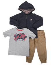 Ben Sherman - 3 Piece Knit Set (2T-4T)-2283006