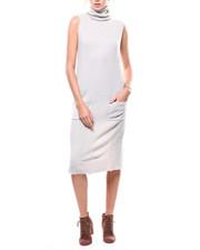Women - S/L Turtleneck Sweater Dress-2280803