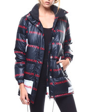 Womens-Winter - Multi Logo Down Puffer-2282922