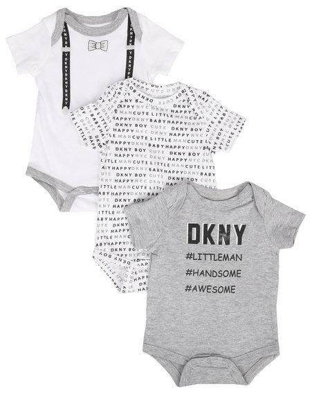 DKNY Jeans - Littleman 3-Piece Creeper Set (Infant)