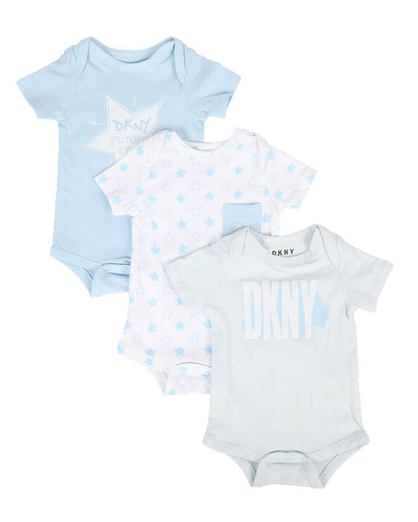DKNY Jeans - Future Star 3-Piece Creeper Set (Infant)