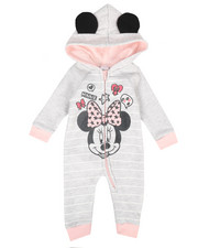 Disney/Sesame Street - Fleece Coveralls (Infant)-2283077