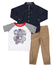 Boys - 3 Piece Knit Set (4-7)-2283067
