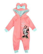 Disney/Sesame Street - Fleece Coveralls (Infant)-2283105
