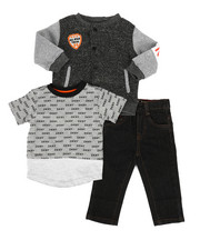 Boys - York Avenue 3Pc Set (Infant)-2283487