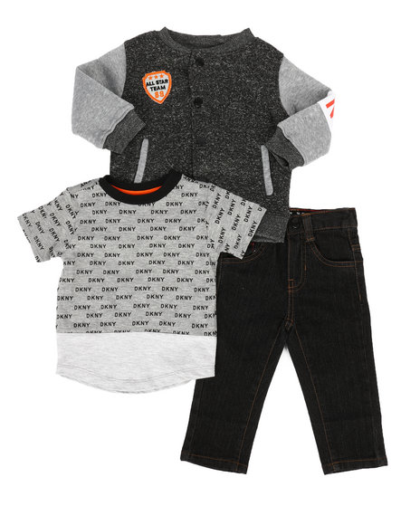 DKNY Jeans - York Avenue 3Pc Set (Infant)