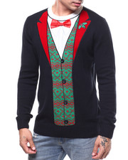 Sweatshirts & Sweaters - FESTIVE SUIT UGLY XMAS SWEATER-2283719