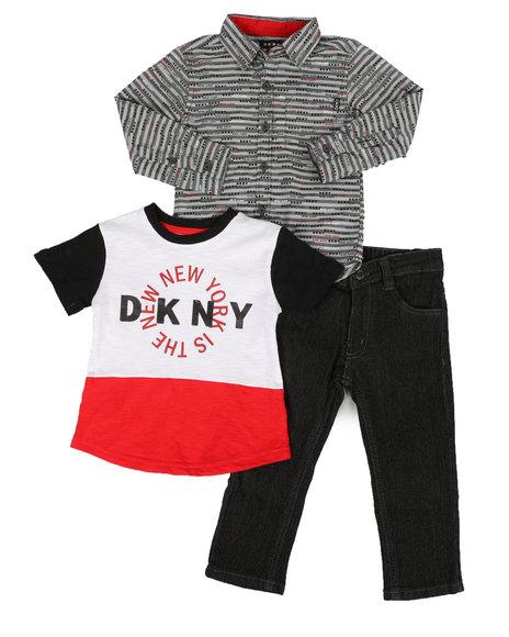 DKNY Jeans - Greenwich Village 3Pc Set (2T-4T)