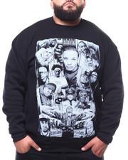Pullover Sweatshirts - Rapper Collage Sweatshirt (B&T)-2283202