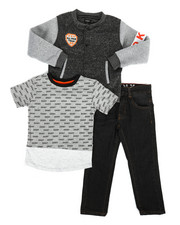 Boys - York Avenue 3Pc Set (4-7)-2283495
