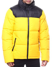 SMOKE RISE - COLORBLOCK BUBBLE JACKET-2283714