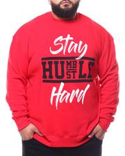 Pullover Sweatshirts - Stay Humble Hustle Hard Sweatshirt (B&T)-2283198