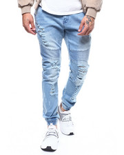 Mens-Winter - Kamikaze Moto Denim Jogger-2282386