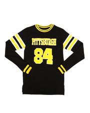 Tops - Long Sleeve Pittsburgh Jersey T-Shirt (8-20)-2283395