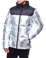 SMOKE RISE - COLORBLOCK BUBBLE JACKET-2283563