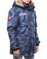 Outerwear - CANADA WEATHER CAMO CARGO POCKET PARKA W REFLECTIVE TAPE-2283725