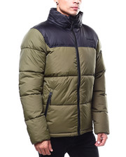 SMOKE RISE - COLORBLOCK BUBBLE JACKET-2283613