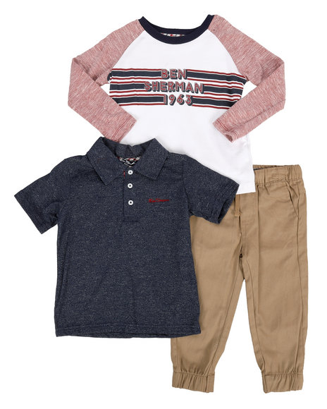 Ben Sherman - 3 Piece Knit Set (2T-4T)