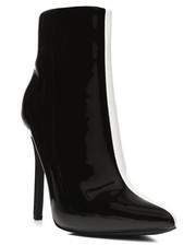 Fashion Lab - Two-Tone Hi Heel Bootie-2283537
