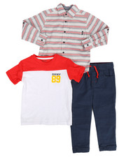 Boys - Manhattan 3Pc Set (4-7)-2283464