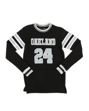 Tops - Long Sleeve Oakland Jersey T-Shirt (8-20)-2283384