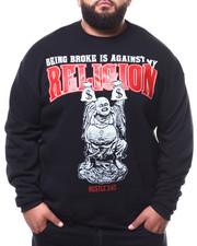 Big & Tall Faves - Being Broke Against My Religion Sweatshirt (B&T)-2283255