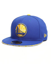 New Era - 9Fifty Callout Trim Golden State Warriors Snapback Hat-2283813