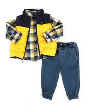 Ben Sherman - 3 Piece Vest Set (Infant)-2283828