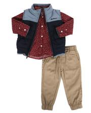 Ben Sherman - 3 Piece Vest Set (2T-4T)-2283824