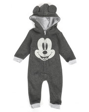 One Pieces - Hooded Fleece Coveralls (Infant)-2283856