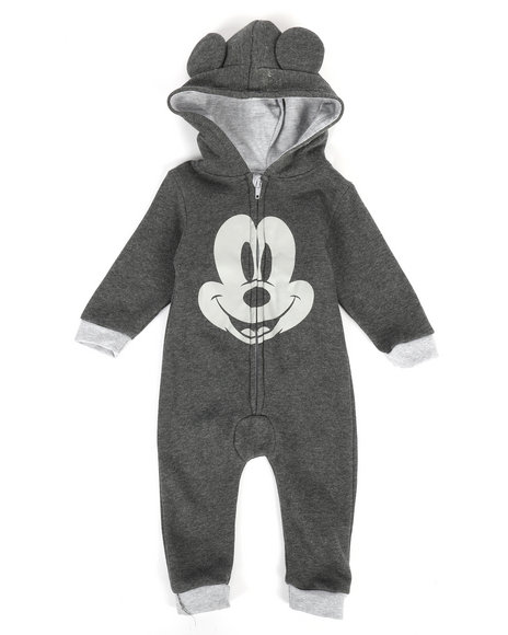 Disney/Sesame Street - Hooded Fleece Coveralls (Infant)