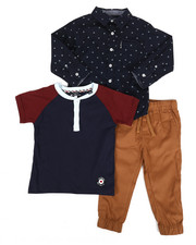 Ben Sherman - 3 Piece Knit Set (2T-4T)-2283836