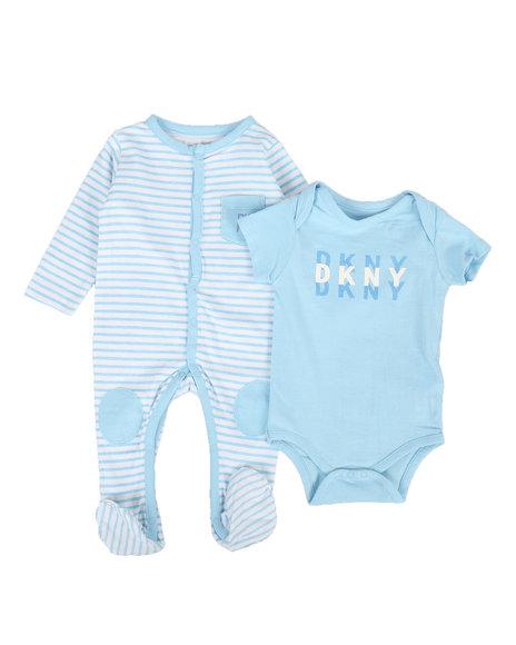 DKNY Jeans - 2 Piece Bodysuit & Coveralls Set (Infant)