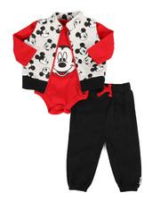 Disney/Sesame Street - 3 Piece Quilted Vest Set (Infant)-2283848