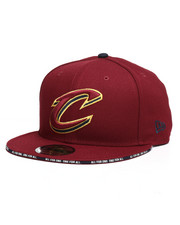 New Era - 9Fifty Callout Trim Cleveland Cavaliers Snapback Hat-2283812