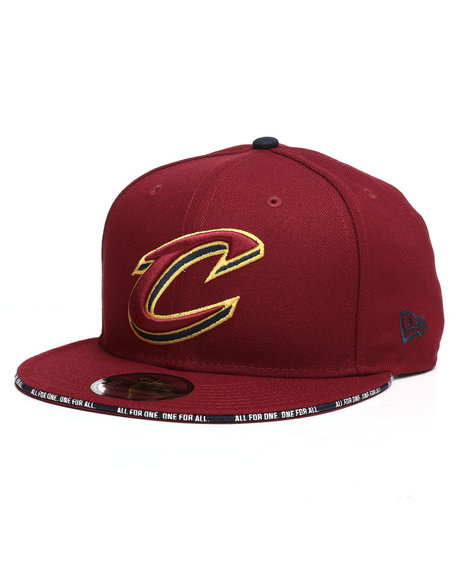 9fb87b8550d76 Buy 9Fifty Callout Trim Cleveland Cavaliers Snapback Hat Men s Hats ...