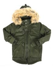 Outerwear - Multi Pocket Jacket w/ Print Lining (4-7)-2283431
