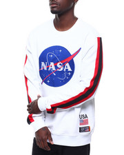 Hudson NYC - NASA MEATBALL CREWNECK SWEATHIRT-2284589