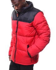 SMOKE RISE - COLORBLOCK BUBBLE JACKET-2284423