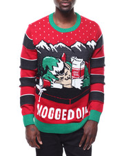 Sweatshirts & Sweaters - NOGGED OUT UGLY XMAS SWEATER-2284260