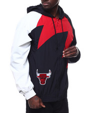 Mitchell & Ness - CHICAGO BULLS Shark Tooth Jacket-2284375
