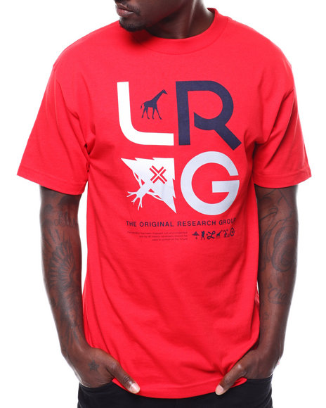 LRG - STACKED ICONS TEE