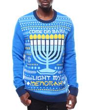 Sweatshirts & Sweaters - LIGHT MY MENORAH UGLYSWEATER-2284296