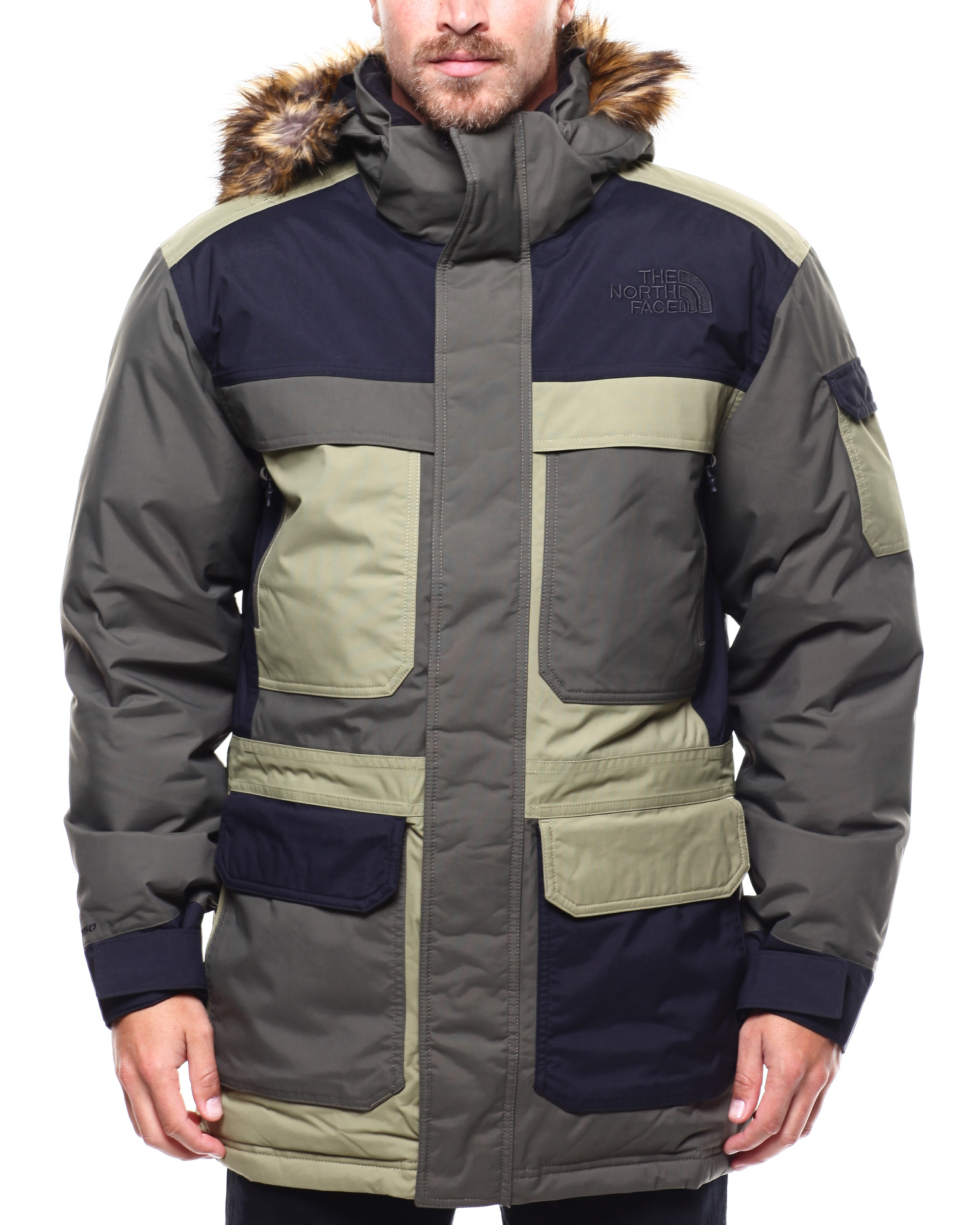 e22a74d24 Buy McMurdo Parka III -COLORBLOCK Men's Outerwear from The North ...