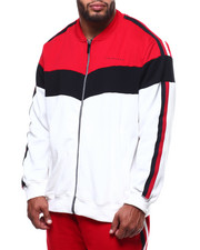 Track Jackets - Chevron Color Blocked Trac Jacket (B&T)-2284984