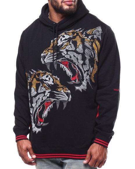 Sean John - Vexed Tiger Embroidery Hoodie (B&T)
