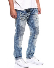 Jeans & Pants - DISTRESSED VINTAGE MOTO JEAN-2284756